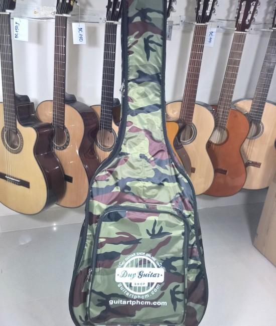 Bao guitar 3 lớp Camo