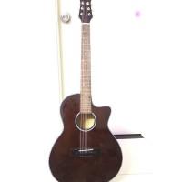 Acoustic guitar DVE70J màu nâu