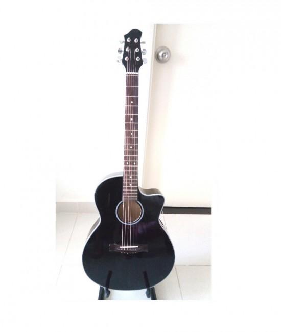 Acoustic guitar DVE85J màu đen