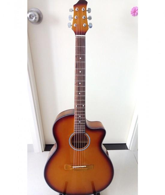 Acoustic Guitar DVE85J vàng đồng