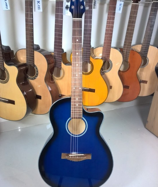 Acoustic guitar DVE85BB blue burst