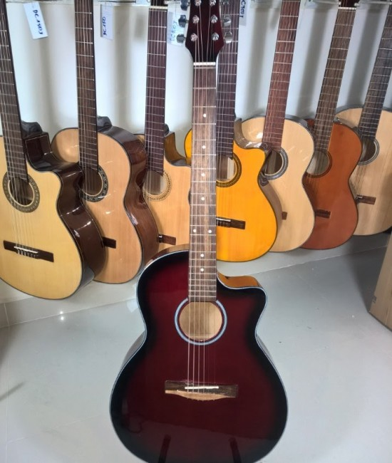 Acoustic guitar DVE85RS red sunburst