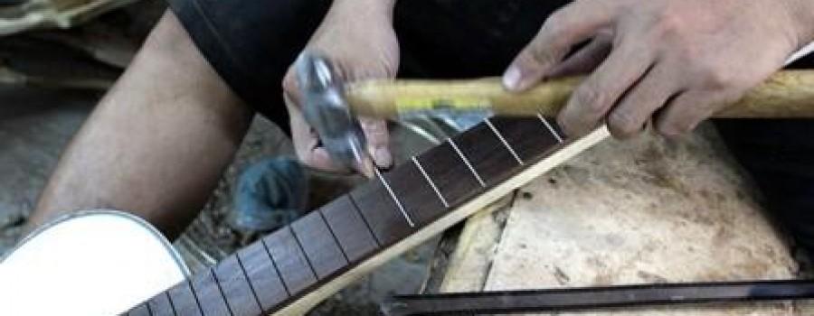Chỉnh cong cần đàn guitar - Kỹ thuật chỉnh cong cần đàn guitar dành cho người mới