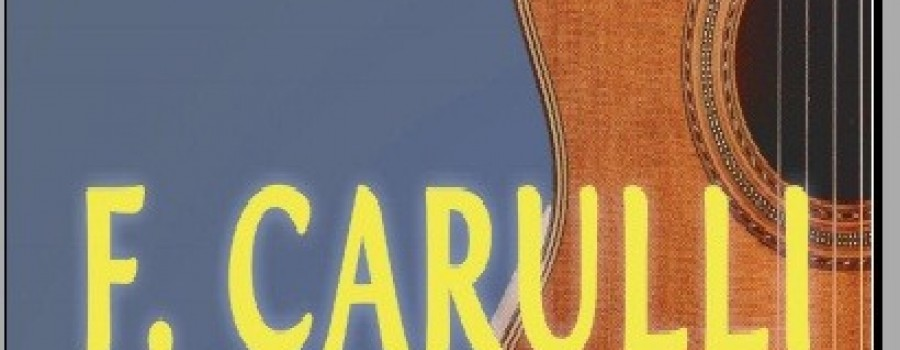 Tự học đàn guitar theo phương pháp F.Carulli